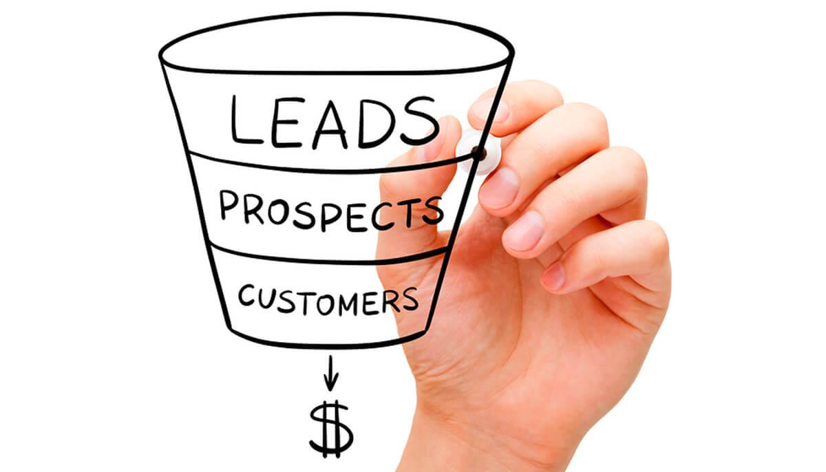 Sales optimization funnel