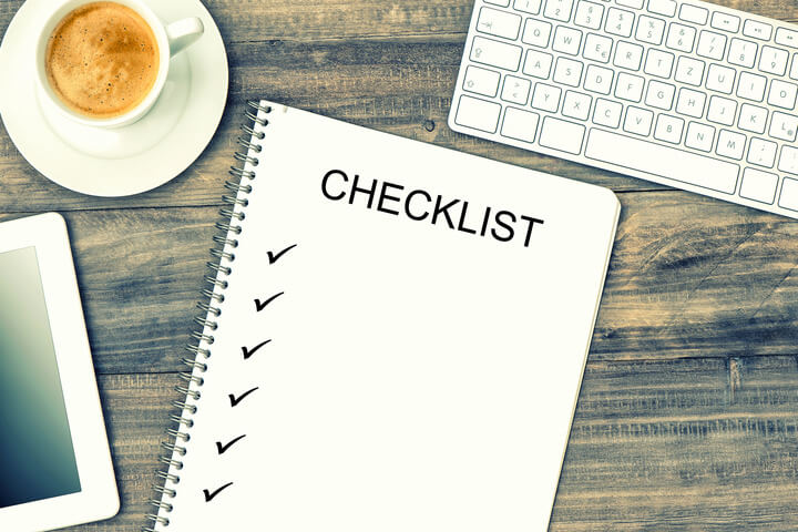 Strategy checklist for small businesses